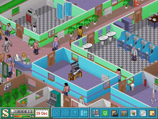 Theme Hospital Free on Origin for a limited time!