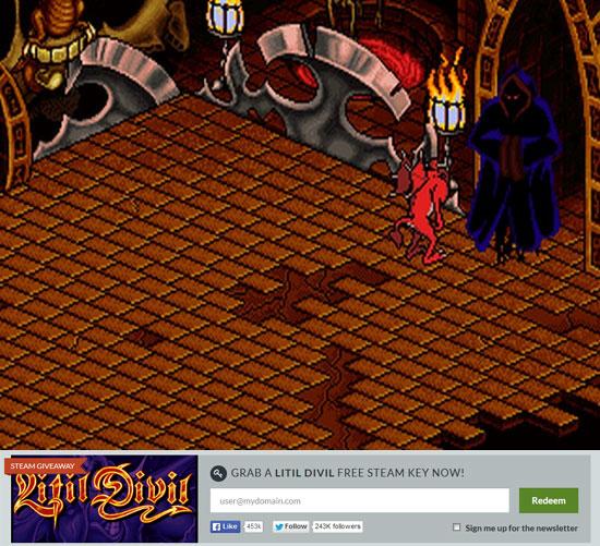 Litil Divil free steam key