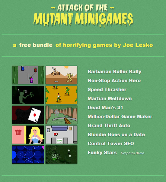 Attack of the Mutant Minigames