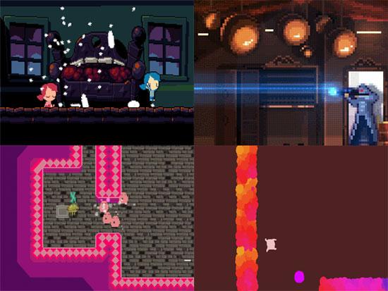 Ludum Dare 32 Top 20 Compo Gamepack