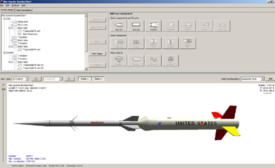 OpenRocket — an Open Source model rocket simulator