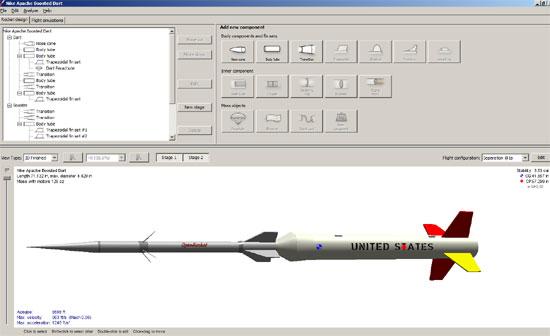 OpenRocket — an Open Source model rocket simulator