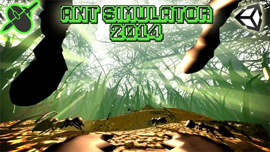 Ant Simulator 2014 (prototype)