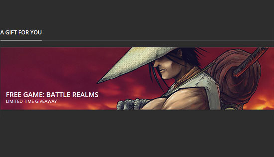 Battle Realms Free on Gog for a limited time