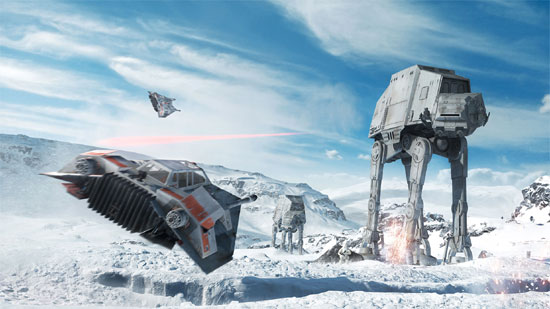 Star Wars Battlefront Beta on October 8
