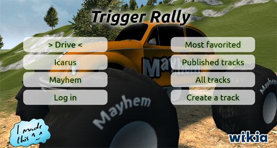 Trigger Rally Online Edition