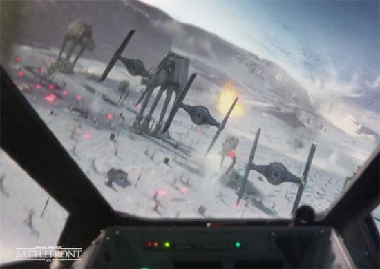 Star Wars Battlefront trailer a bit misleading