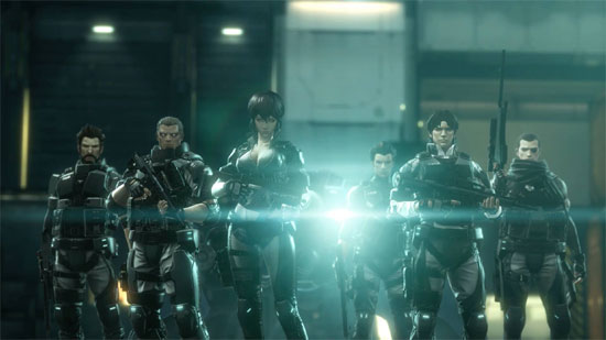 Free Weekend – Ghost in the Shell: Stand Alone Complex – First Assault Online