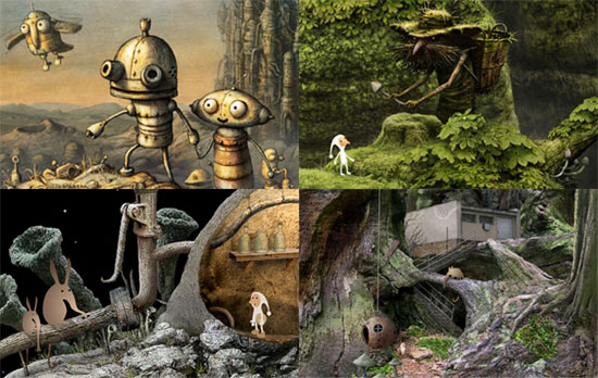 Samorost Saga and other browser games