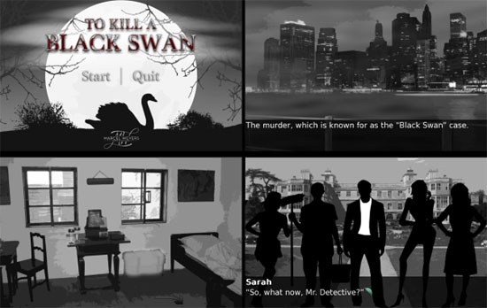 To Kill A Black Swan (visual novel)