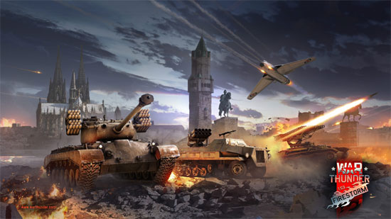 "War Thunder: Update 1.53 ""Firestorm"""
