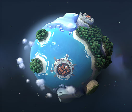 Polygonal Planet Project