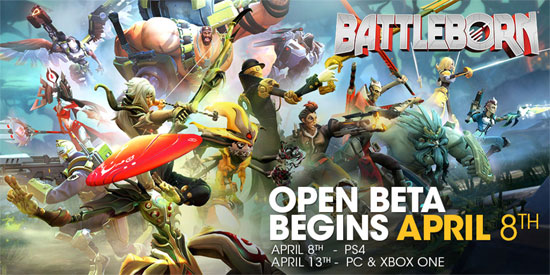 BattleBorn Open Beta