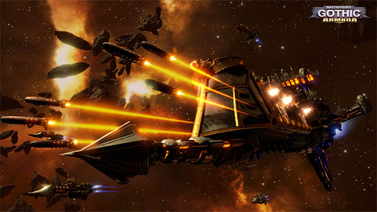 Battlefleet Gothic: Armada Launch and trailers