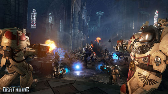 Space Hulk: Deathwing Gameplay trailer