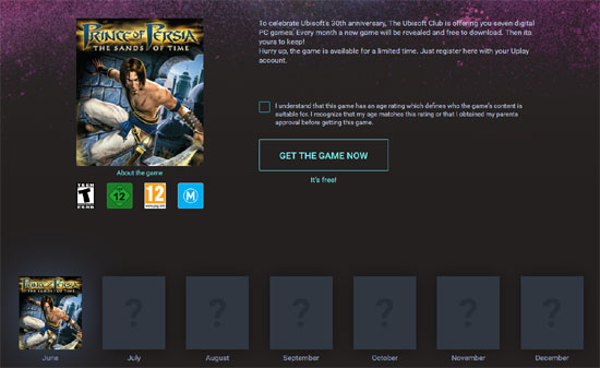 Prince of Persia Free for a limited time!