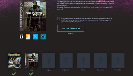 The original Splinter Cell free for a limited time