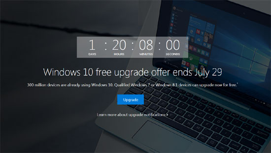 Windows 10 free upgrade for customers who use assistive technologies