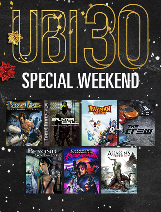 Ubi 30 Special Weekend