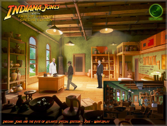 Indiana Jones and the Fate of Atlantis Special Edition v1.3 (demo)