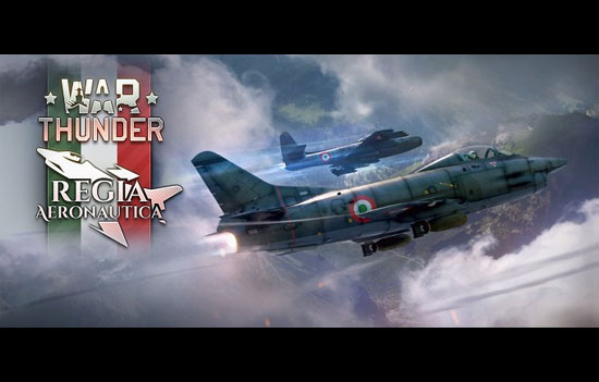 War Thunder added Italian Airforce to the game