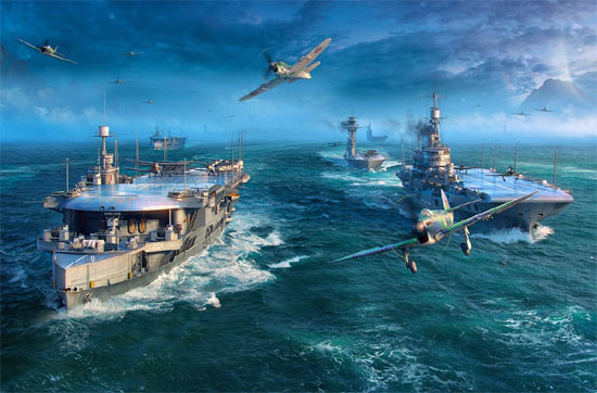 World of Warships expand