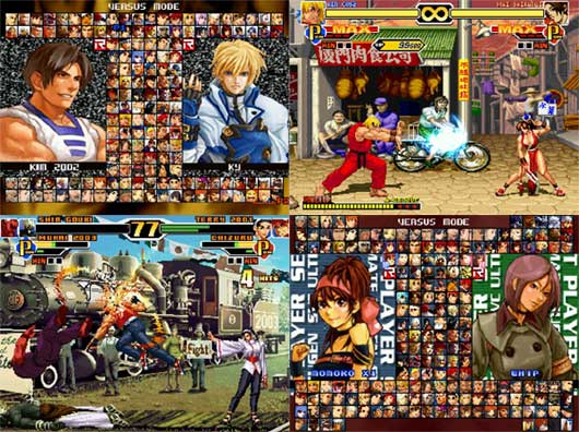 snk vs capcom ultimate mugen 2007 pc