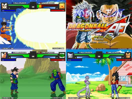 Dragon Ball Mugen Pack + Bonus