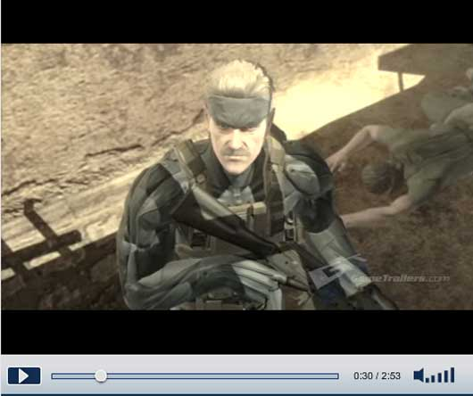 MGS4:Guns of the Patriot English Demo