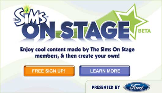 Sims on Stage (Social karaoke and more..)